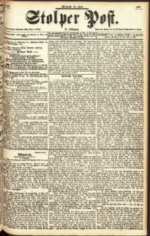 Stolper Post Nr. 150/1897