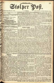 Stolper Post Nr. 151/1897