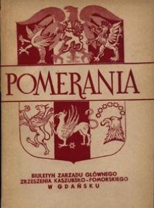 Pomerania : biuletyn Zarządu Głównego Zrzeszenia Kaszubsko-Pomorskiego, 1969, Nr 3-4