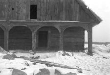 Chata zrębowa w budowie - Lipuska Huta [2]