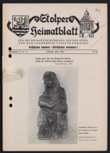 Stolper Heimatblatt für die Heimatvertriebenen aus der Stadt und dem Landkreise Stolp in Pommern Nr. 5/1957