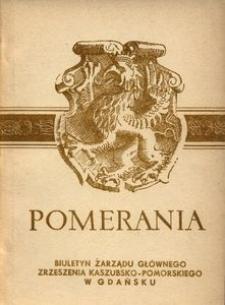 Pomerania : biuletyn Zarządu Głównego Zrzeszenia Kaszubsko-Pomorskiego, 1971, nr 2