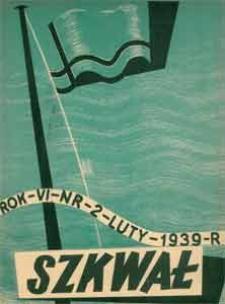 Szkwał : miesięcznik morski, 1939, nr 2