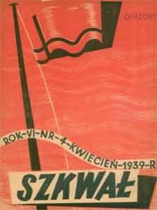 Szkwał : miesięcznik morski, 1939, nr 4
