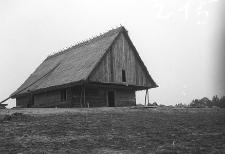 Chata zrębowa w budowie [4]