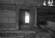 Chata zrębowa w budowie - Lipuska Huta [7]
