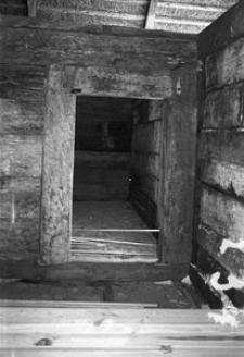 Chata zrębowa w budowie - Lipuska Huta [9]