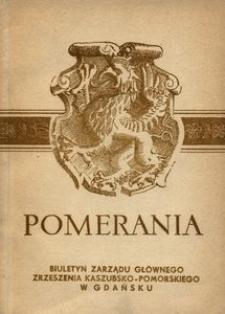 Pomerania : biuletyn Zarządu Głównego Zrzeszenia Kaszubsko-Pomorskiego, 1971, nr 6