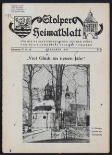 Stolper Heimatblatt für die Heimatvertriebenen aus der Stadt und dem Landkreise Stolp in Pommern Nr. 13/1951