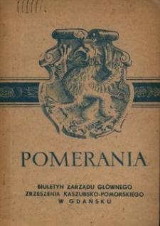 Pomerania : biuletyn Zarządu Głównego Zrzeszenia Kaszubsko-Pomorskiego, 1972, nr 3