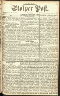 Stolper Post Nr. 177/1897