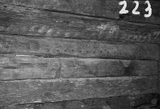 Chata zrębowa - ściana - Piechowice [3]