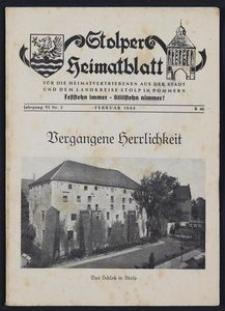 Stolper Heimatblatt für die Heimatvertriebenen aus der Stadt und dem Landkreise Stolp in Pommern Nr. 2/1953
