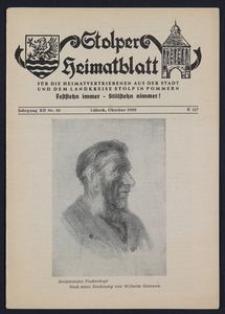 Stolper Heimatblatt für die Heimatvertriebenen aus der Stadt und dem Landkreise Stolp in Pommern Nr. 10/1959