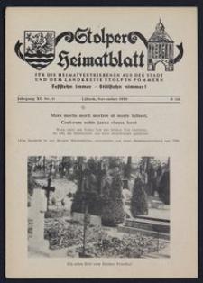 Stolper Heimatblatt für die Heimatvertriebenen aus der Stadt und dem Landkreise Stolp in Pommern Nr. 11/1959