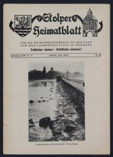 Stolper Heimatblatt für die Heimatvertriebenen aus der Stadt und dem Landkreise Stolp in Pommern Nr. 6/1960