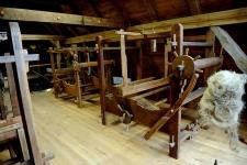 Krosna tkackie w Muzeum Kultury Ludowej Pomorza w Swołowie (1)