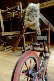 Krosna tkackie w Muzeum Kultury Ludowej Pomorza w Swołowie (2)