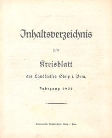 Kreisblatt des Stolper Kreises, 1932
