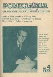 Pomerania : miesięcznik społeczno-kulturalny, 1983, nr 4