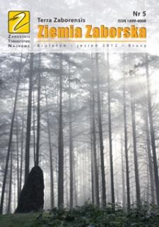Ziemia Zaborska : biuletyn, 2012, nr 5