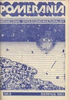 Pomerania : miesięcznik społeczno-kulturalny, 1983, nr 8