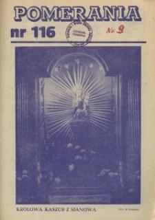 Pomerania : miesięcznik społeczno-kulturalny, 1981, nr 9