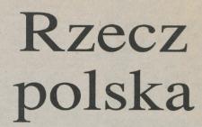 Rzecz polska