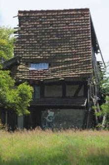 Fragment budynku w Swołowie