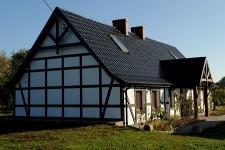 Nowy dom w kratę w Kuleszewie