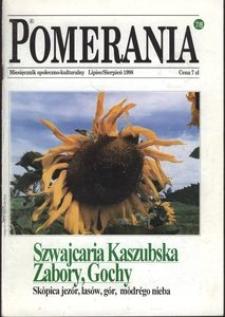 Pomerania : miesięcznik społeczno-kulturalny, 1998, nr 7-8