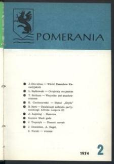 Pomerania : miesięcznik społeczno-kulturalny, 1974, nr 2