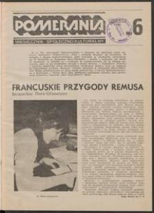 Pomerania : miesięcznik społeczno-kulturalny, 1986, nr 6