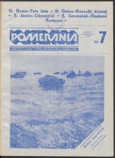 Pomerania : miesięcznik społeczno-kulturalny, 1986, nr 7