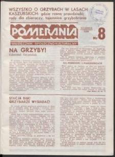 Pomerania : miesięcznik społeczno-kulturalny, 1986, nr 8