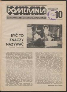Pomerania : miesięcznik społeczno-kulturalny, 1986, nr 10