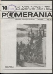Pomerania : miesięcznik kulturalny, 1989, nr 10