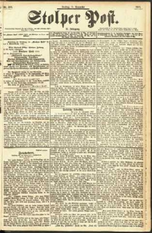 Stolper Post Nr. 306/1897