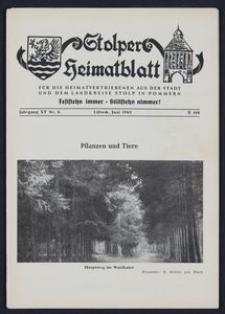 Stolper Heimatblatt für die Heimatvertriebenen aus der Stadt und dem Landkreise Stolp in Pommern Nr. 6/1962