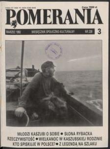 Pomerania : miesięcznik społeczno-kulturalny, 1993, nr 3