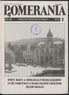 Pomerania : miesięcznik społeczno-kulturalny, 1993, nr 5