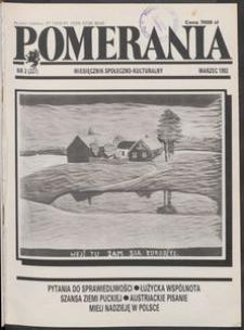 Pomerania : miesięcznik społeczno-kulturalny, 1992, nr 3