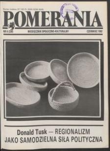 Pomerania : miesięcznik społeczno-kulturalny, 1992, nr 6