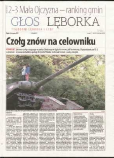 Głos Lęborka : tygodnik Lęborka i Łeby, 2012, listopad, nr 280