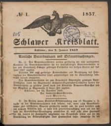 Schlawer Kreisblatt 1857