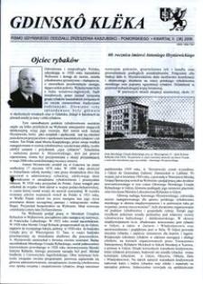 Gdinskô Klëka : pismo Gdyńskiego Oddziału Zrzeszenia Kaszubsko-Pomorskiego. Nr 2 (38) 2006