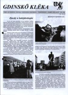 Gdinskô Klëka : pismo Gdyńskiego Oddziału Zrzeszenia Kaszubsko-Pomorskiego. Nr Specjalny (39) 2006