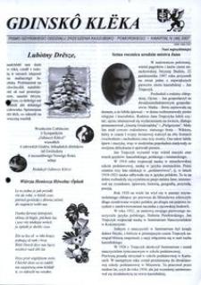 Gdinskô Klëka : pismo Gdyńskiego Oddziału Zrzeszenia Kaszubsko-Pomorskiego. Nr 4 (46) 2007