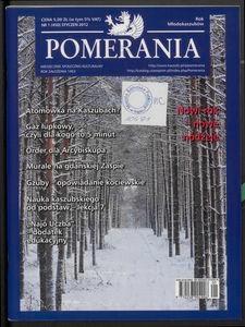 Pomerania : miesięcznik społeczno-kulturalny, 2012, nr 1
