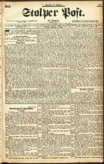 Stolper Post Nr. 21/1903